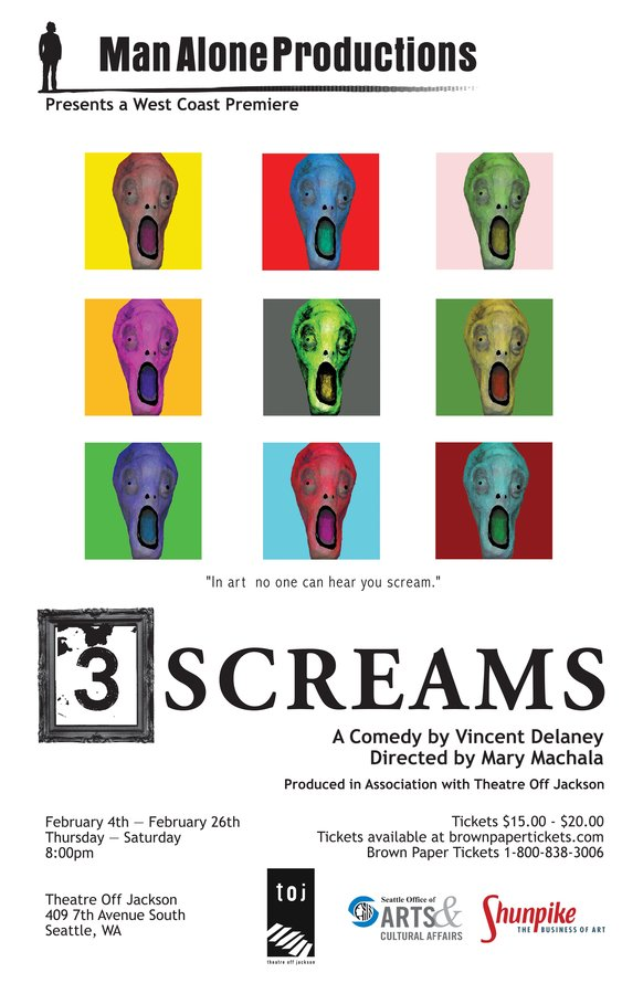 3 SCREAMS. Man Alone Productions, 2010.