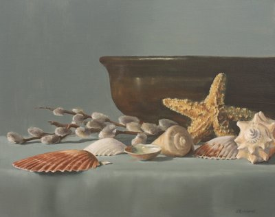 Sea Shells and Pussy Willows J Reinhardt 2011