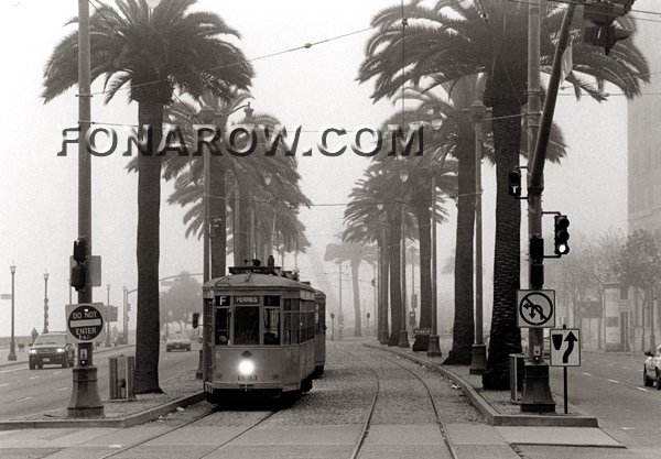 Streetcar in the Fog Copyright Craig Fonarow
