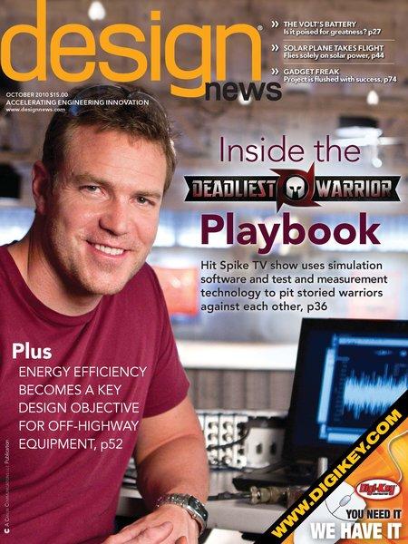 Geoffrey Thor Desmoulin Ph D 39 Design News Magazine Cover 39