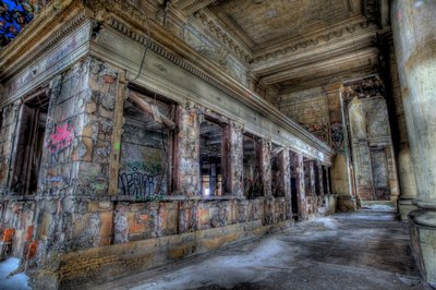 Michigan Central Station - Ticket Windows