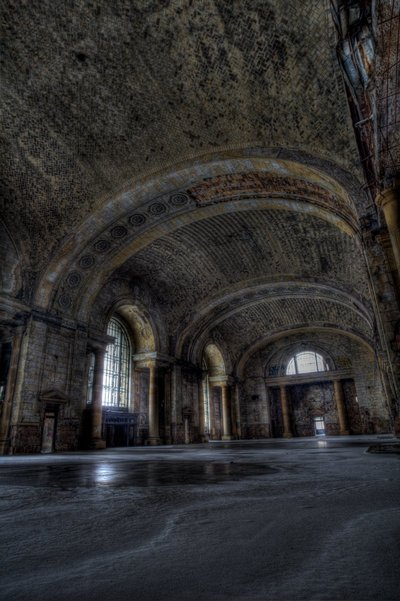 Michigan Central Station - Entry Hall