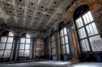 Michigan Central Station - Lounge