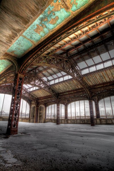 Michigan Central Station - Metal Work