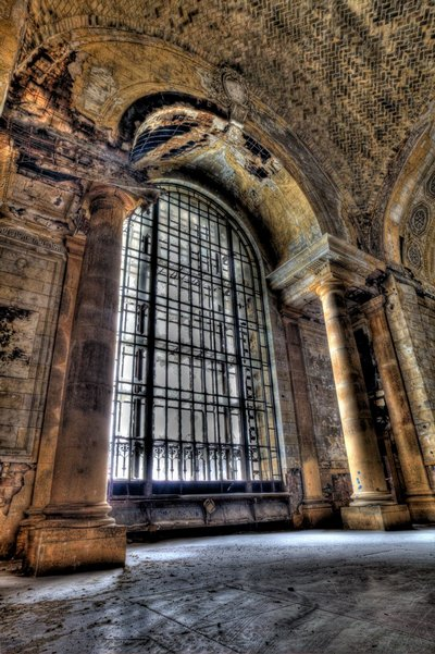 Michigan Central Station - Front Window