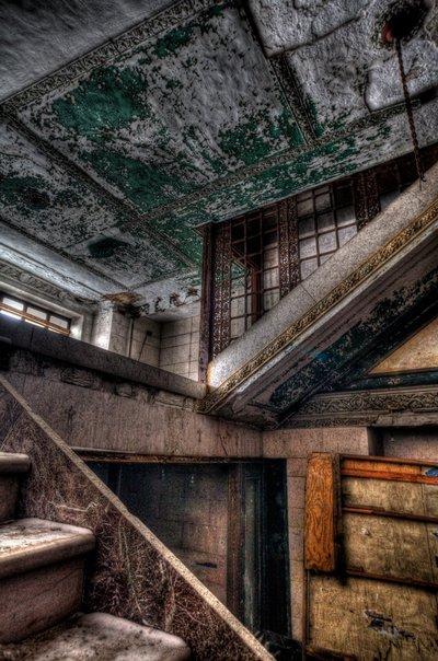 Metropolitan Building - Stairs