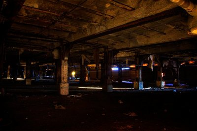 Michigan Central Station - Underground