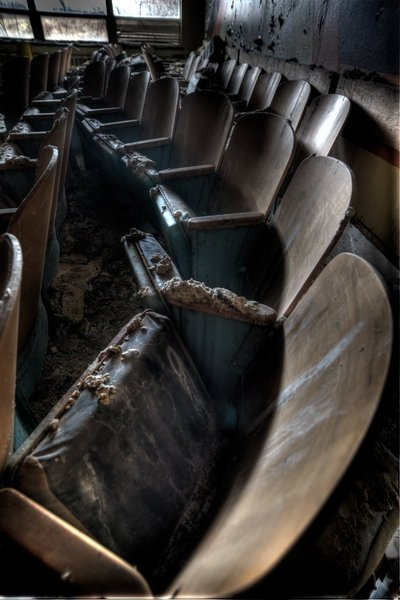 Northville Psychiatric Hospital - Theater Chairs