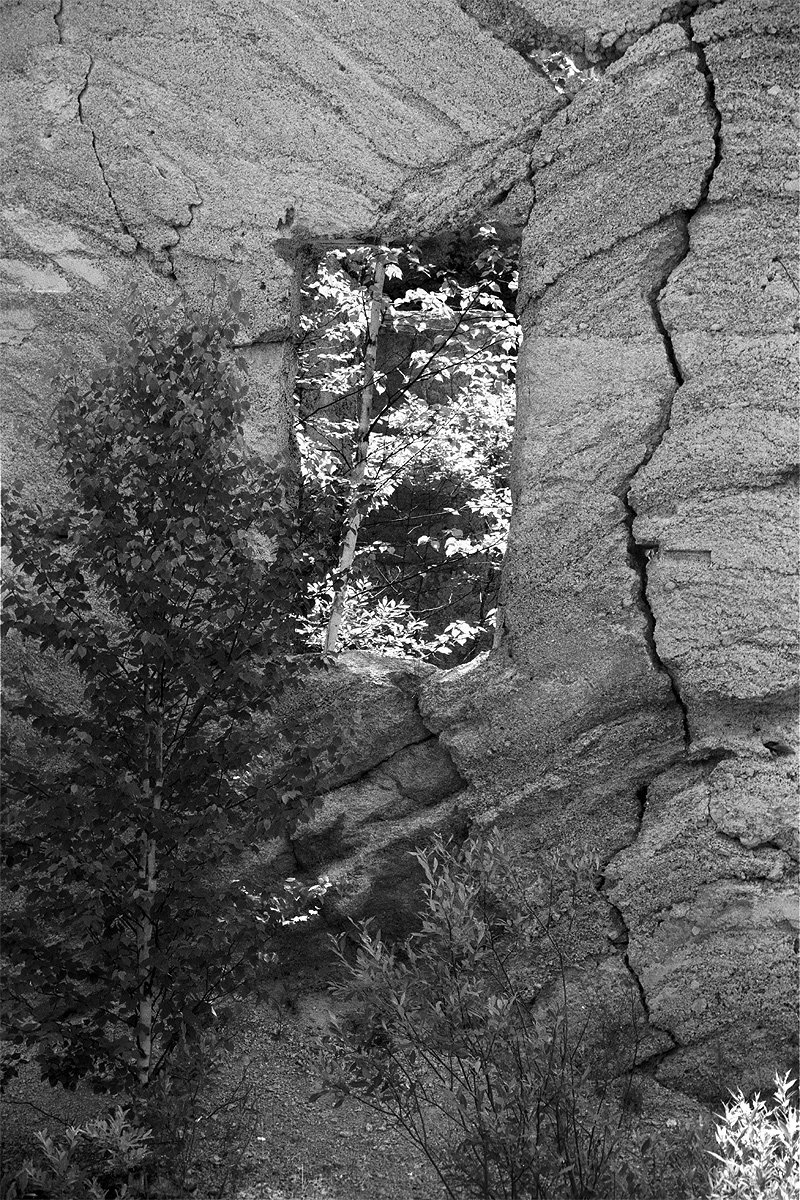 Through the Window - Fiborn Quarry