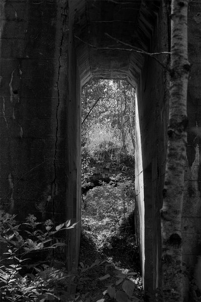 Archway in the Ruins of Marlborough