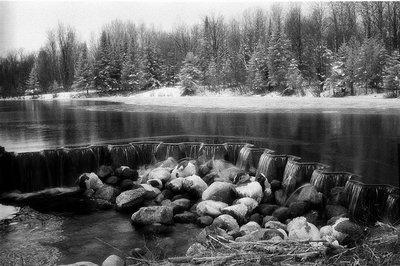 Dam at Rugg Pond