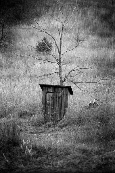 Outhouse at Isadore