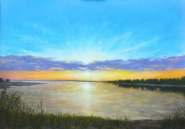 Mississippi River Sunrise 2015