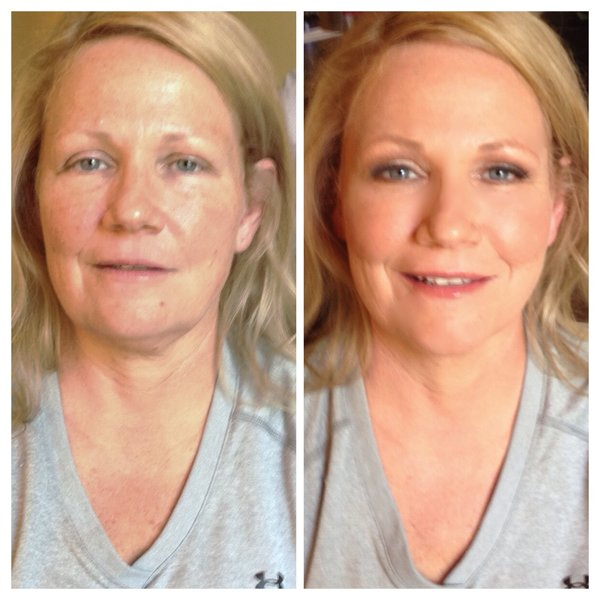 nashville makeup lessons #Over40beauty #makeupbylisajohnson