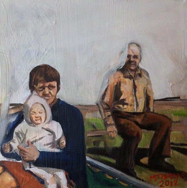Sarah, Judy, and Clarence Megan Thomas, 2012