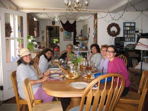 Plein Air Painters Dining